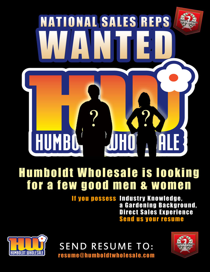 Humboldt Wholesale is Hiring!